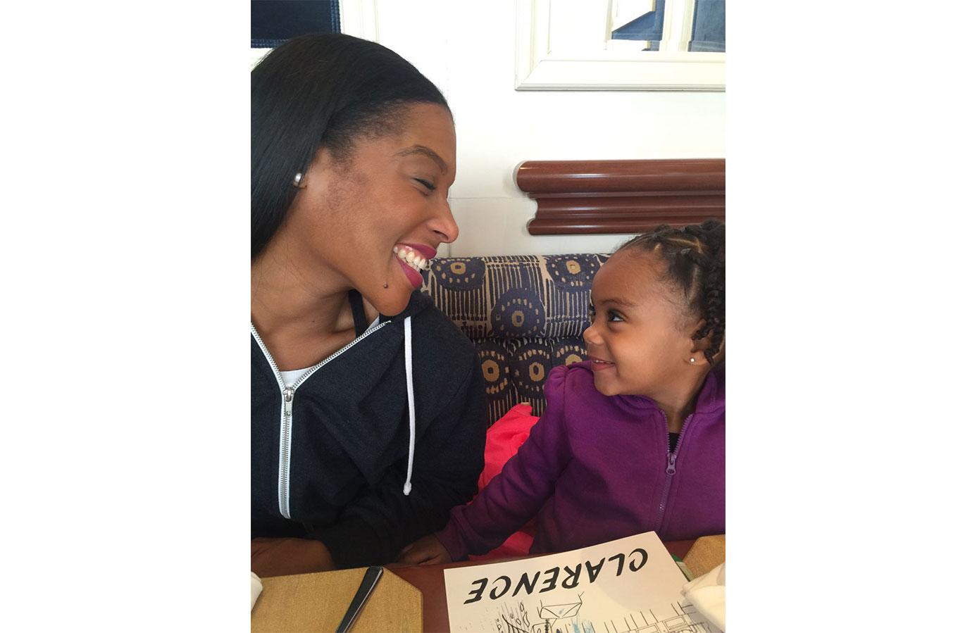 Find Your Grind Co-Founder Jasmine Desilva with Daughter - FYG, Bermuda